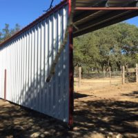 hill country metal building