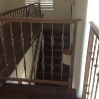 Custom railing Blanco