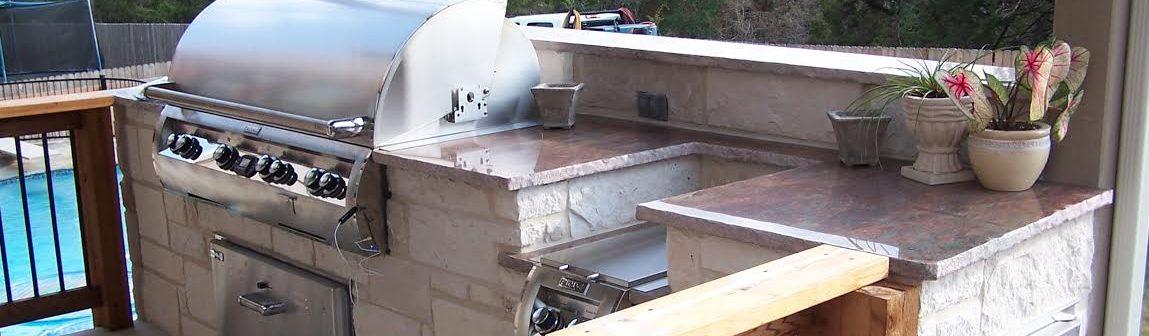 Custom Hill Country Outdoor Kitchen Builder Cmw General Contractors