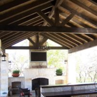 Custom Outdoor Kitchen San Antonio