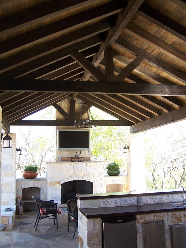Custom Hill Country Outdoor Kitchen Builder Cmw General Contractors