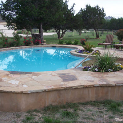 Swimming pools cmw general contractors - Swimming pool construction san antonio ...