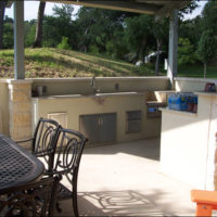 Outdoor Kitchen Hill Country
